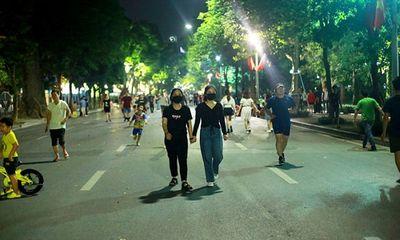 Hà Nội: Tạm dừng các hoạt động tại không gian đi bộ trên địa bàn quận Hoàn Kiếm từ 21/8