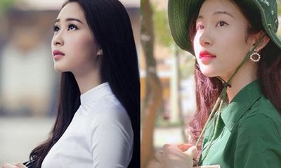 """Thí sinh Hoa hậu Việt Nam sở hữu nét đẹp """"thần tiên tỷ tỷ"""", chẳng khác nào"""