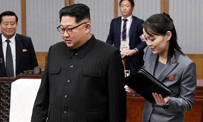 Em gái ông Kim Jong-un giữ vai trò