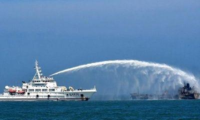 Tàu chở dầu đâm tàu hàng ở Trung Quốc: Ít nhất 8 người tử vong