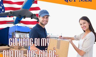 Dịch vụ gửi hàng đi Mỹ, chuyển phát nhanh quốc tế DHL, UPS giá rẻ
