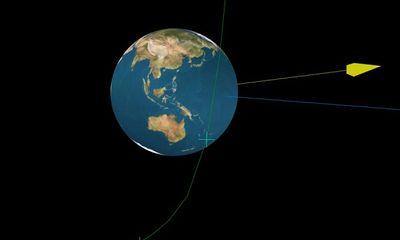 """Tiểu hành tinh """"im hơi lặng tiếng"""" bay qua Trái đất, 6 tiếng sau mới phát hiện ra"""