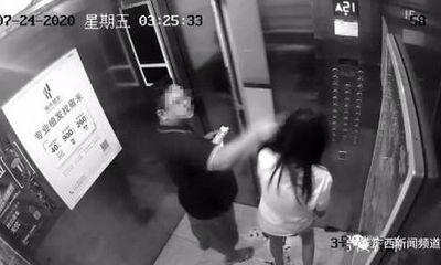 Người phụ nữ bị kẻ lạ mặt đánh đập trong thang máy lúc nửa đêm