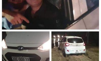 Vụ tài xế ô tô nghi tông gãy chân bé gái, xưng công an rồi bỏ chạy: Nhân chứng tiết lộ sốc về tờ 20.000 đồng