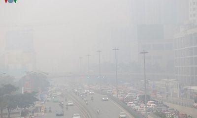 Chất lượng không khí Hà Nội đột ngột giảm mạnh xuống mức kém