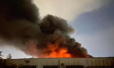 TP. HCM: Cháy lớn trong khu công nghiệp Tân Tạo
