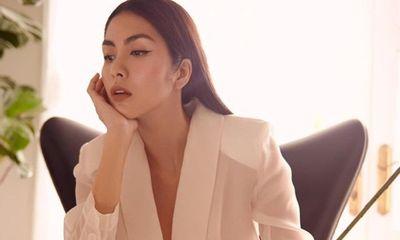 Tăng Thanh Hà diện vest xuyên thấu, khoe thần thái đỉnh cao xứng danh ngọc nữ showbiz Việt