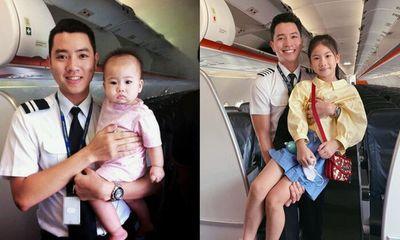 Cơ trưởng trẻ nhất Việt Nam khoe ảnh