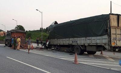 Va chạm kinh hoàng trên cao tốc Nội Bài – Lào Cai,một tài xế tử vong