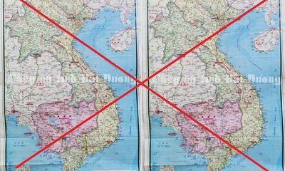 Hải Dương: Phát hiện 4 doanh nghiệp có người Trung Quốc treo bản đồ