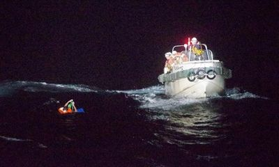 42 thủy thủ mất tích trong vụ chìm tàu ngoài khơi Nhật Bản