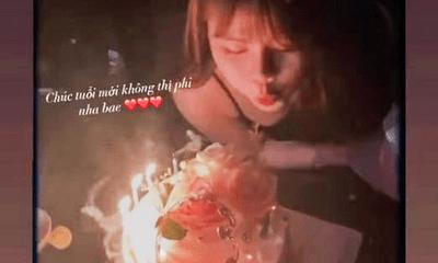 Đón sinh nhật 21 tuổi cùng hội bạn thân, bạn gái Quang Hải được chúc