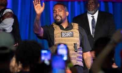 Rapper Kanye West chi gần 6 triệu USD tranh cử Tổng thống Mỹ