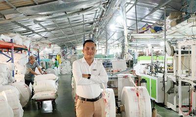 Chủ tịch Boss Land Bùi Vĩnh Tuấn lên lộ trình xây dựng thương hiệu túi Nilon tự hủy Bảo Vệ Môi Trường