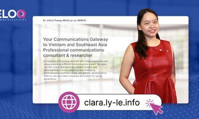 Khởi động website về ngành PR và truyền thông khủng hoảng, chia sẻ kiến thức chuyên ngành, dịch vụ tư vấn và hợp tác nghiên cứu tại Việt Nam và khu vực Đông Nam Á