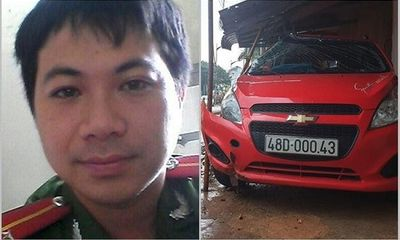 Kỷ luật thượng úy công an lái xe tông chết người ở Đắk Nông