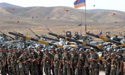 Armenia điều hàng trăm binh sĩ đến