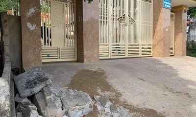 Sập tường trước cổng trường, học sinh lớp 5 tưởng vong: Chánh văn phòng sở GD&ĐT Nghệ An nói gì?