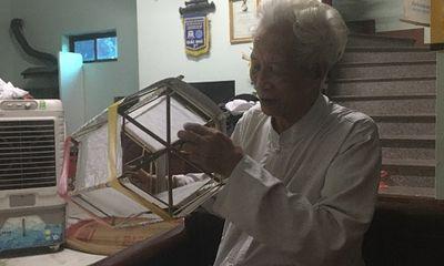 Một nghệ nhân nặng lòng lưu giữ nghề làm đèn kéo quân truyền thống