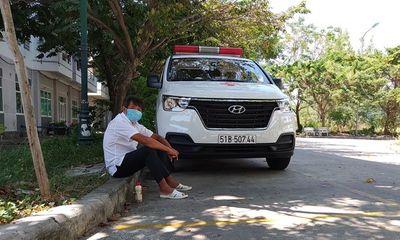 Ông Đoàn Ngọc Hải đến Đà Nẵng chờ đưa bệnh nhân nghèo về nhà