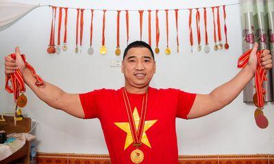 """Số phận đặc biệt của vận động viên không chân được mệnh danh là """"triệu phú"""" huy chương"""