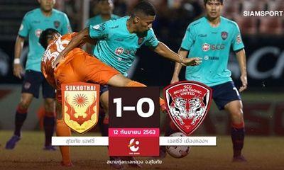 """Đặng Văn Lâm chơi xuất sắc, Muangthong United vẫn """"trắng tay"""" tại Thai-League"""