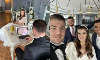 Chú rể bị cộng đồng mạng chỉ trích vì bức ảnh chơi game trong hôn lễ và sự thật đằng sau