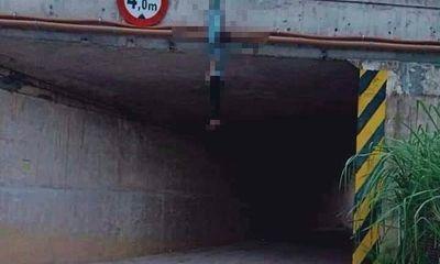 Vụ phát hiện thanh niên chết trong tư thế treo cổ ở cầu chui: Nạn nhân là ai?