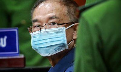 Hình ảnh cựu Phó chủ tịch UBND TP.HCM Nguyễn Thành Tài sau khi bị bắt