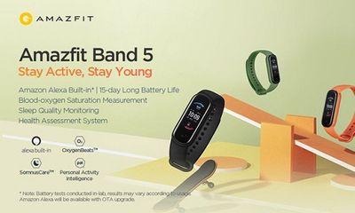 Tin tức công nghệ mới nóng nhất hôm nay 20/9: Xiaomi ra mắt Amazfit Band 5 giá rẻ, có chức năng đo oxy trong máu