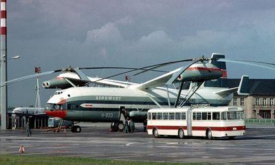 Chiêm ngưỡng trực thăng lớn nhất mọi thời đại, kỳ quan kỹ thuật của Liên Xô