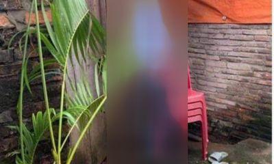 Vụ người chồng treo cổ tự tử ở Bắc Ninh: Rơi nước mắt cảnh vợ ôm 2 con khóc nghẹn bên quan tài
