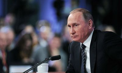 Tổng thống Nga Vladimir Putin được đề cử giải Nobel Hòa bình 2021