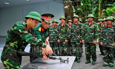 Từ 21/8, học viên đào tạo sĩ quan dự bị được tham gia BHYT