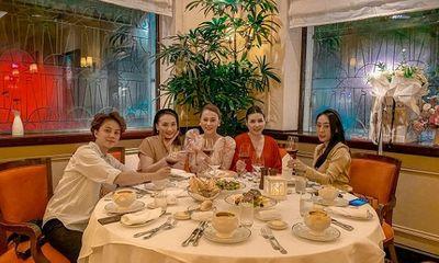 Dàn diễn viên hot nhất Hà thành hội ngộ trong sinh nhật Phương Oanh, nhan sắc Bảo Thanh thành tâm điểm