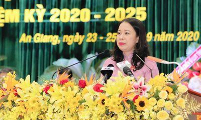Bà Võ Thị Ánh Xuân tái đắc cử chức Bí thư Tỉnh ủy An Giang