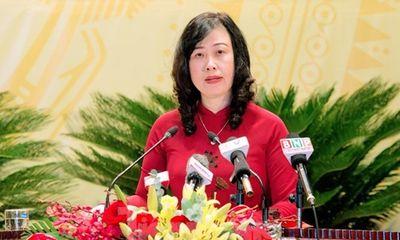 Chân dung bà Đào Hồng Lan được bầu giữ chức Bí thư Tỉnh ủy Bắc Ninh