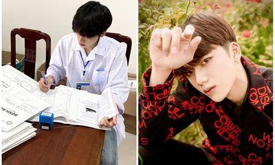 Nam sinh trường Y nổi như cồn sau clip mặc áo blouse, đẹp trai chẳng kém gì các idol Hàn Quốc