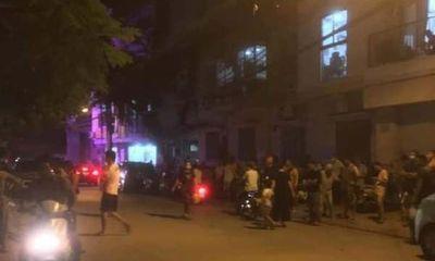 Hà Nội: Chủ thầu xây dựng bị ròng rọc thang máy thắt vào cổ tử vong