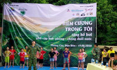 Chương trình thiện nguyện tặng hồ bơi di động và tổ chức trung thu cho trẻ em huyện Mường Chà tỉnh Điện Biên