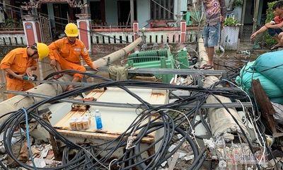 Vụ hàng trăm cột điện bị