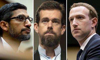 3 CEO của Facebook, Twitter và Google sắp phải ra điều trần trước Thượng viện Mỹ