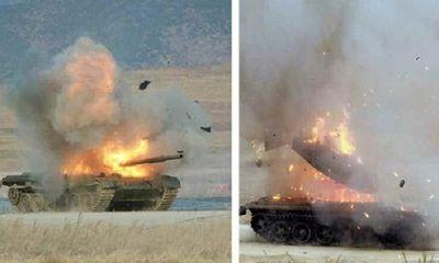 Tên lửa chống tăng TOW-2A của Mỹ gây ám ảnh khi thiêu rụi hàng ngàn chiếc xe thiết giáp tại Syria