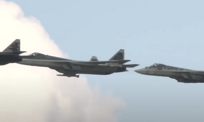 Tiêm kích tàng hình Su-57 của Nga được