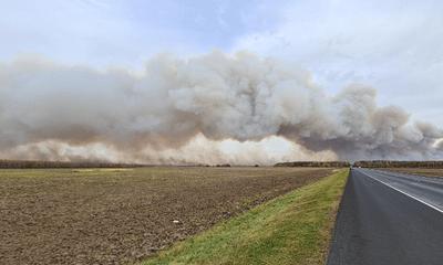 Cháy lớn bùng phát tại kho chứa đạn ở Nga