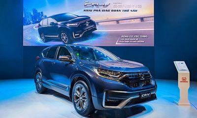 Honda CR-V 2020 ưu đãi sốc, lên đến 125 triệu đồng