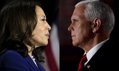 Bầu cử phó tổng thống Mỹ: Pence - Harris tranh luận trực tiếp qua vách ngăn