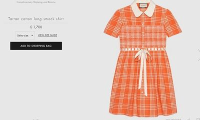Gucci ra mắt mẫu váy dành riêng cho nam giới, giá lên tới hơn 50 triệu đồng