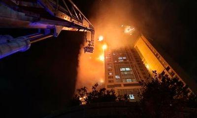 Ảnh: Đám cháy lớn