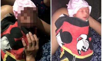 Xót xa bé sơ sinh còn nguyên dây rốn bị bỏ rơi trong thùng carton